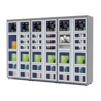 Buy cheap 24 Hours Electronic Touch Screen Locker Vending Machines with Coin / Banknote / Card Payment product