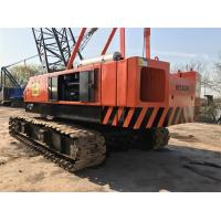 China Lattice Boom Used Hitachi Crawler Crane KH180 50 Ton , Japan Crawler Crane Product Cheap Price on sale