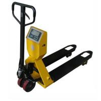 Buy cheap Hand Pallet Truck with Scale Rough Terrain Hydraulic Hand Pallet Truck for Trucks product
