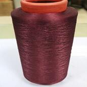 China 100 pct dope dyed polyester dty yarn on sale