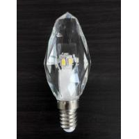 Quality 3W LED Crystal Candle Light K5 crystal housing 220V E14 dimmable for sale