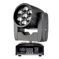 Buy cheap 7x15w RGBW 4in1 quad colors Mini LED Moving Head Wash Zoom Stage Lights on Sales product