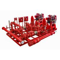 Buy cheap NM Fire UL listed 2000 GPM Vertical Turbine Fire Pump Package with Diesel Engine from wholesalers
