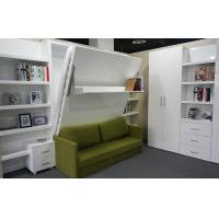 Buy cheap Queen Size White Glossy Color Modern Wall Bed With Space Saving Function product