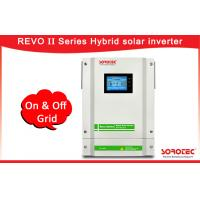 Buy cheap Hybrid PV Inverter / Hybrid Solar Inverters Language And Time Setting from wholesalers