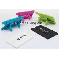 Buy cheap HOT Selling! Multi Function Silicone Phone Wallet With Built-In Kickstand product