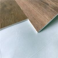 Buy cheap UniPush Click interlocking pvc no glue non-slip wood grain spc vinyl plank flooring from wholesalers