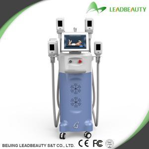 China 4 Big heads cryolipolysis slimming machine for body shaping on sale