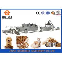 Buy cheap Large Capacity Animal Food Making Machine , Industrial Pet Food Manufacturing from wholesalers