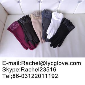 Buy cheap Перчатки кашемира/перчатки шерстей/перчатки етк экрана касания кожаных перчаток. product