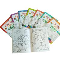 Buy cheap Children Coloring Book Personalised Stationery Gifts A4 / A5 Size Matt Lamination product