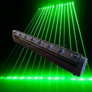 Buy cheap Moving Head 8 Eyes Single Green DJ Club Disco Laser Bar Lights product
