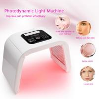 Quality 4 Color Anti Aging Light Pdt Photon Therapy LED Facial Machine Pigment Removal for sale