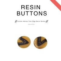 Buy cheap 4 Holes Resin Button For Coats product