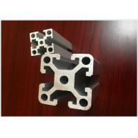 Buy cheap Base 20mm x 20mm Anodized Industrial Aluminium Profile For  Assembly Line/ Product line from wholesalers