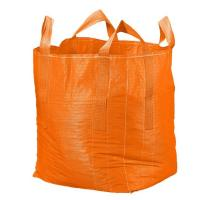 Buy cheap Orange Flat Bottom Super Sack Bag Filling Spout Top / Full Open Top Available product