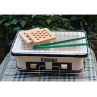 Buy cheap Table Top Japanese Ceramic barbecue Grill , Rectangle Outdoor Charcoal BBQ Grill product