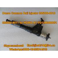 Buy cheap Densoの共通の柵の注入器HOWO A7 VG1246080051のための095000-8010 095000-8011 product