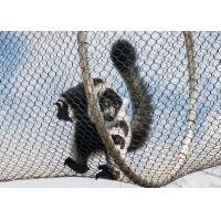 Buy cheap Zoo / Garden Stainless Steel Wire Rope Mesh With 1.2mm-3.2mm Wire Diameter product