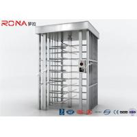 Buy cheap 90 Degrees Full Height Turnstile High Security For Outdoor Access Control from wholesalers