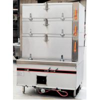 Buy cheap Seafood Commercial Electric Steamer with 3 Independent Compartment 550w / 220v product