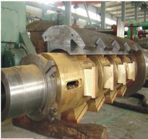 鋼鉄のRecoiler/Decoiler/Uncoiler/Coilerのための鍛造材の圧延シャフト(油圧心棒)