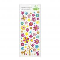 Buy cheap Spring Season Flower And Animal Shimmer Jewel Stickers Handwork Glitter Colorful from wholesalers