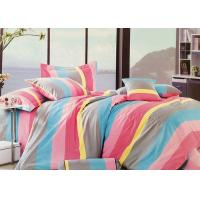Buy cheap Queen Size 100 Cotton Bedding Sets for Girls , Red / Yellow / Blue / Grey product