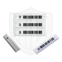 Buy cheap Ferralit Material Anti Theft Labels , Water Resistant EAS Sticker With Barcode product