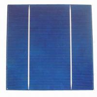 Buy cheap Polycrystalline Solar Cell with A Grade and High Efficiency, Measures 156 x from wholesalers