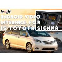 Buy cheap Original Car Screen Installation Android Auto Interface For TOYOTA Sienna 2015 from wholesalers