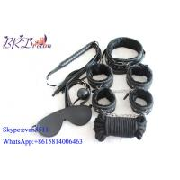 Buy cheap Sex Game Items Leather Bondage Seven Pieces With Flush Inning product