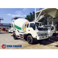 China 3m3 Small Concrete Mixer Machine Truck With Steady And Reliable To Slew on sale