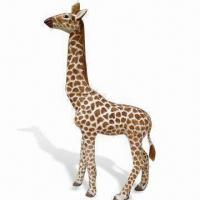 Buy cheap Furry Toy, Giraffe, Measures 115 x 152cm, Good Indoor Decoration for Wild Animal Lover product