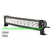 High Power 200w 20 Inch Jeep Accessories Led Light Bar For: 20 Inch Curved LED Light Bar 12V 100W Single Row Offroad