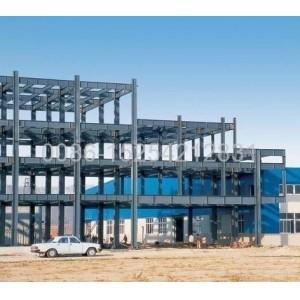 Buy cheap 容易な構造の構造の鋼鉄牛Shesの操作の小屋、干し草の小屋 product