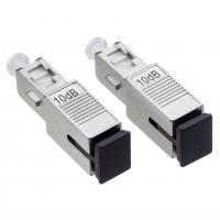 Buy cheap MPO / FC Fiber Optic Attenuator 9 / 125µM With 125 Micron Diameter Cladding from wholesalers