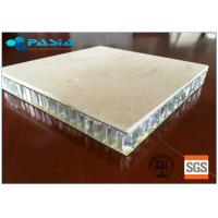 Quality 25 Mm Thickness Lightweight Marble Panels Match Relevant Fire Resistance Standard for sale