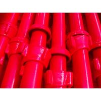 Buy cheap Cuplock scaffolding standard red painted product