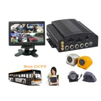 Buy cheap Hybrid Four - In - One HD Mobile DVR 4CH 720P For Buses , HD Vehicle DVR product