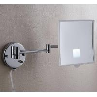 China HSY-1816 Wall mount square makeup led mirror on sale