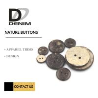 Buy cheap Natural Buttons | 2/4  Hole | Coconut Shirt Buttons product