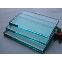 China Toughened Laminated Flat Float Clear Mirror Glass , 2mm - 19mm Auto Windshield Glass on sale