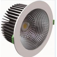 IP20 CRI 80 Energy Saving Dimmable COB LED Down Light 1950 Lumen 32W For Hotels