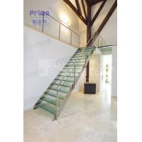 Buy cheap Stainless Steel Stair Railing Laminated Glass Staircase product