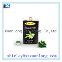 China tin box for Olive Oil packing on sale