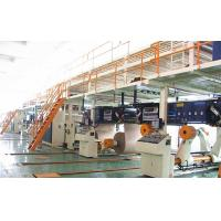 Buy cheap 2 layers corrugated paper production line carton box making machine product
