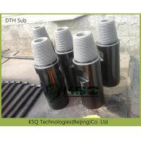 Buy cheap High strength alloy steel DTH Drilling Tools of Drill Sub / DTH Adapter,F-M / F-F/ M-M from wholesalers
