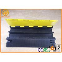 93 * 71 mm Channel Size Heavy Duty Rubber Cable Protection Ramps for Event
