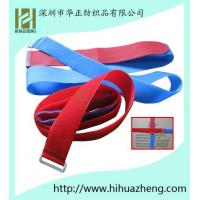 China velcro luggage straps with buckle on sale